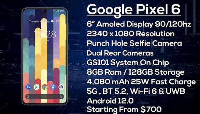 Google Pixel 6 và Pixel 6 XL