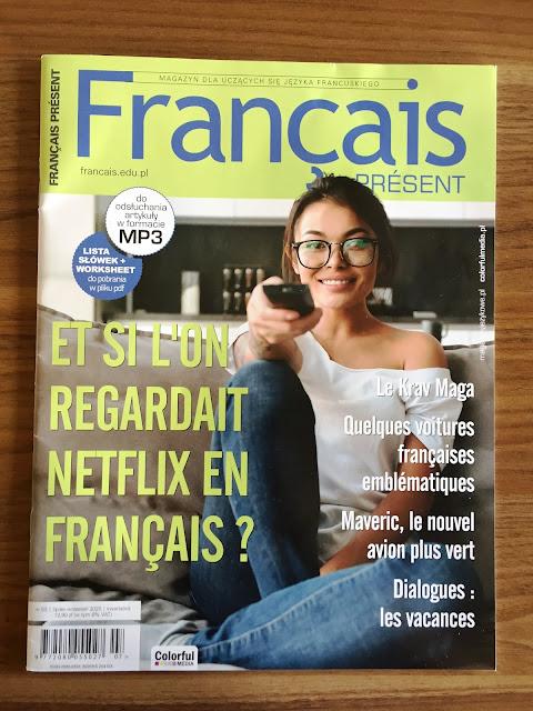 """Français Présent 53/2020"" - okładka czasopisma - Francuski przy kawie"