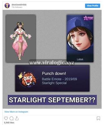 Cara Mendapatkan Skin Starlight Guinevere Mobile Legends Gratis