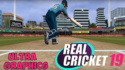 Real Cricket 19 Mod Apk + Data Free Download