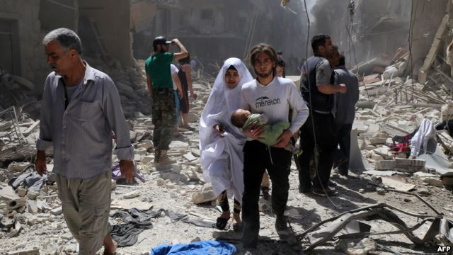 Bahkan Menteri Swedia pun Menangis Melihat Kondisi Aleppo : Semua berubah menjadi neraka