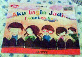 Aku ingin menjadi, buku anak