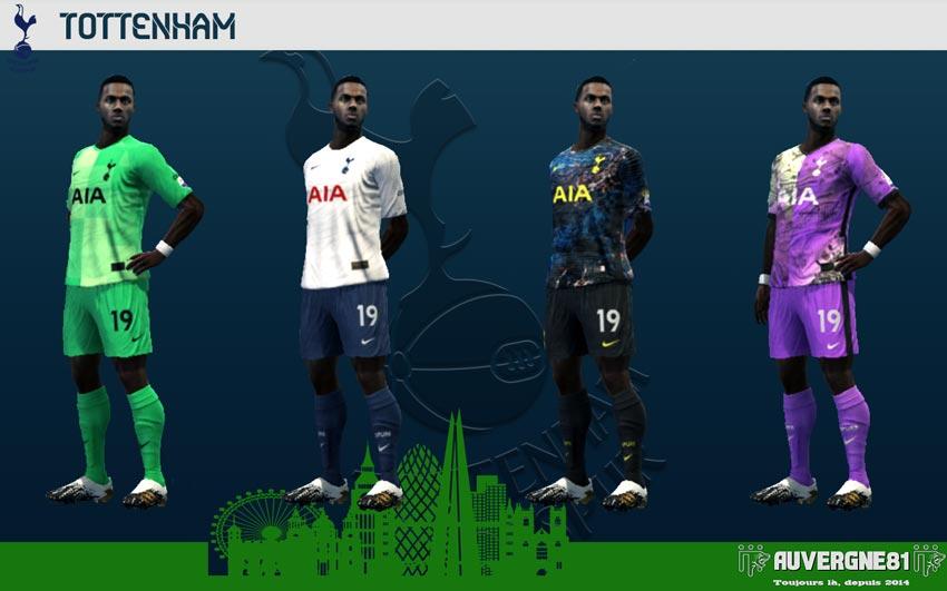 Kits Tottenham 2021-2022 For PES 2013