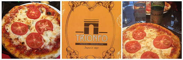 Trionfo Italian Pizza Restaurant Paris France