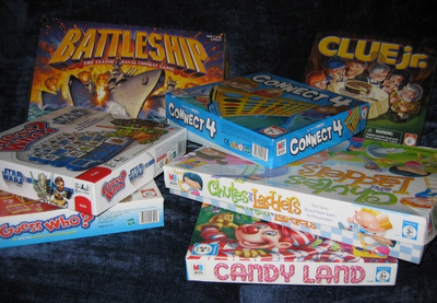 photo of: Board Games in the Home Build Reading Capability
