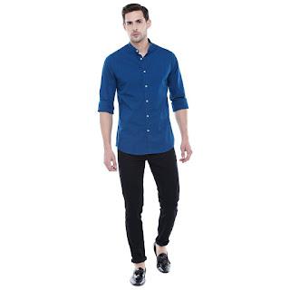 navy blue shirt for boys