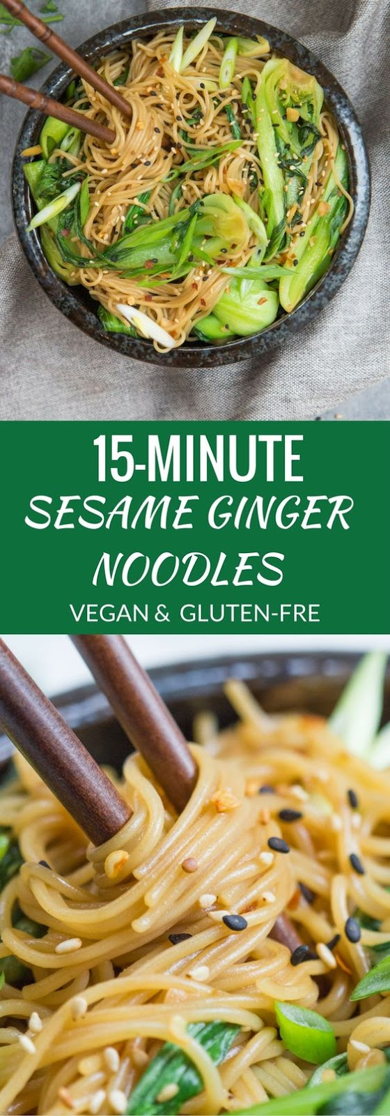 A healthy quick and easy noodle dish that is loaded with flavour! Say hello to the fastest and tastiest dinner!