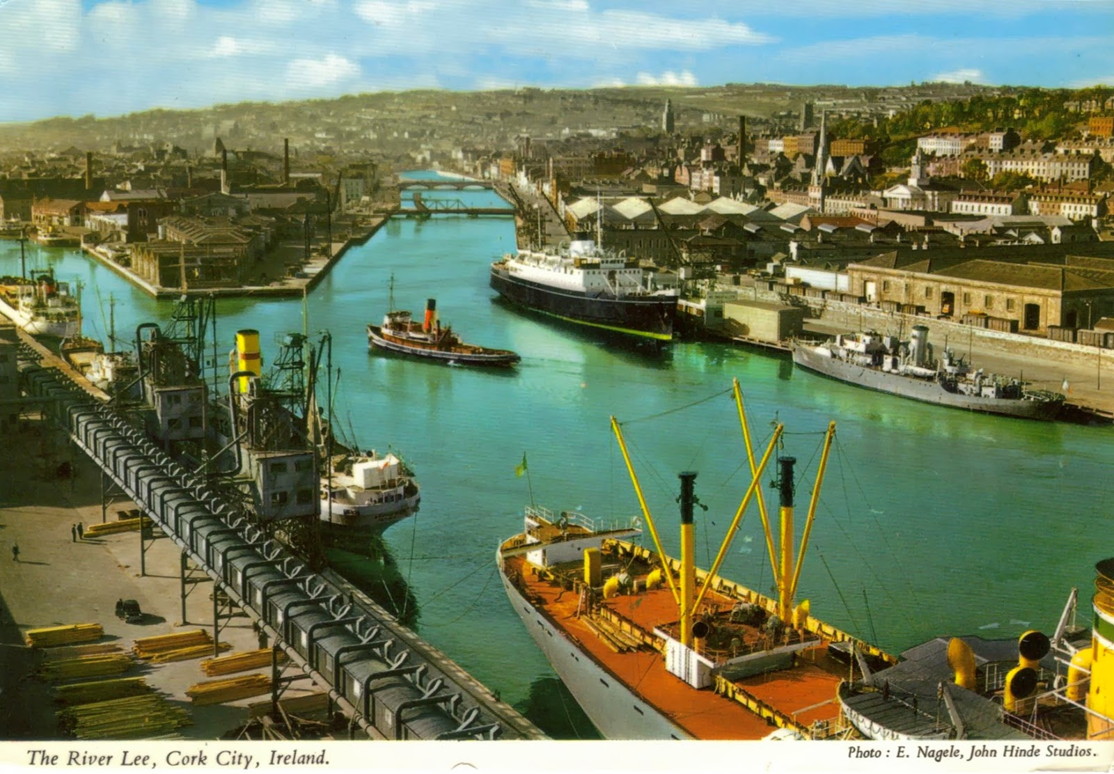 Postcards And Viewcards S Postcard Of The River Lee