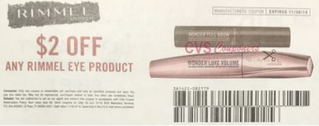 "$2.00/1 Rimmel Eye Product Coupon from ""SMARTSOURCE"" insert week of 9/22"