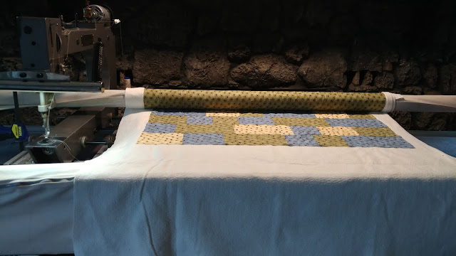 The first test run on the longarm