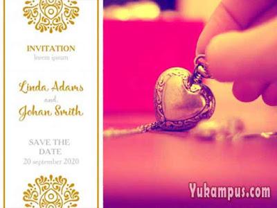 membuat undangan pernikahan online