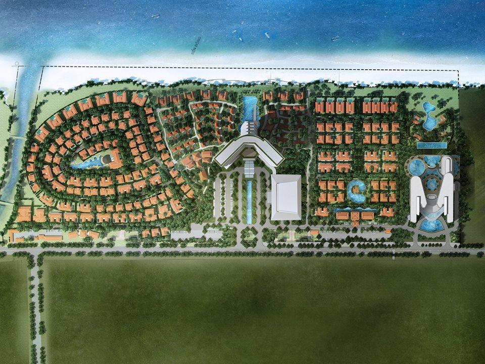 Phối cảnh tổng thể Condotel Ariyana Beach Resort & Suite Đà Nẵng