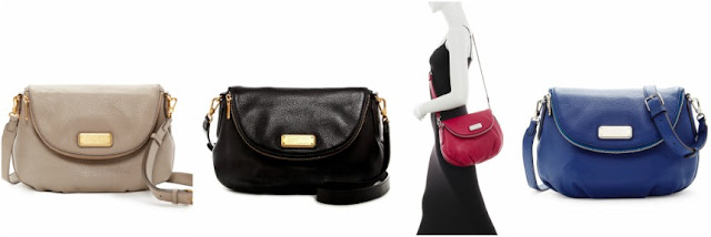 Marc by Marc Jacobs New Q Natasha Leather Crossbody $185 (reg $368)