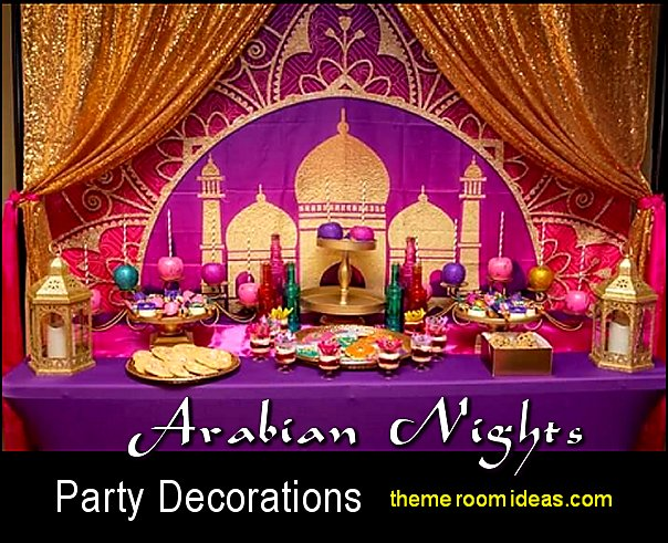 arabian nights party decorations moroccan party decorations aladdin jasmine party ideas