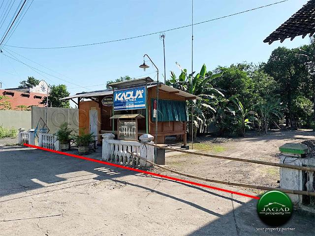 Tanah dalam Perkampungan jalan Godean Km 8