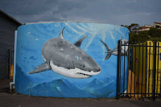 Painted Water Tank in Newcastle