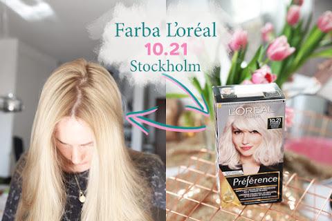 L'oréal 10.21 Stockholm - farba, po której nie żółknie blond - czytaj dalej »