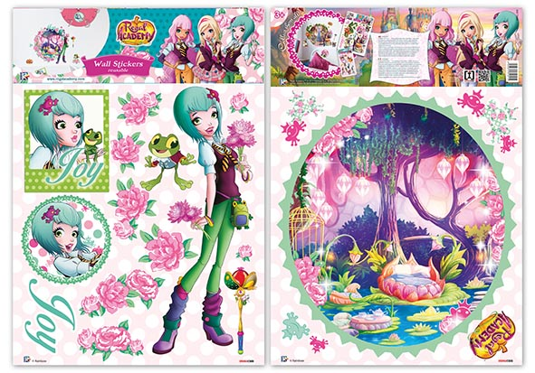 Nuevas Pegatinas para la pared de Regal Academy  Regal