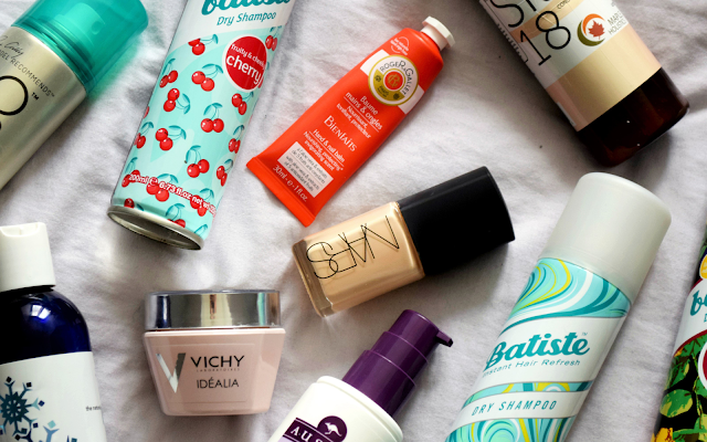 Products I've Recently Used Up - Nars Sheer Glow, Batiste Dry Shampoo, Vichy Idealia, etc.