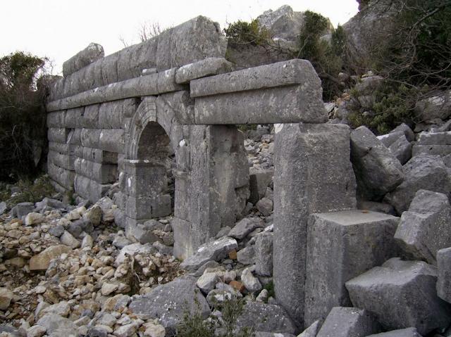 Milyos-Milias antik kenti