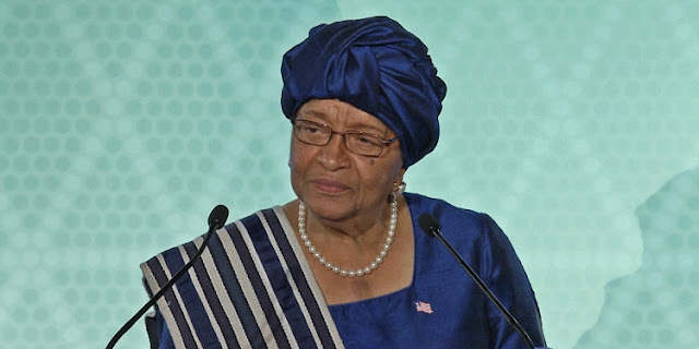 Ellen Johnson-Sirleaf, former President of Liberia.