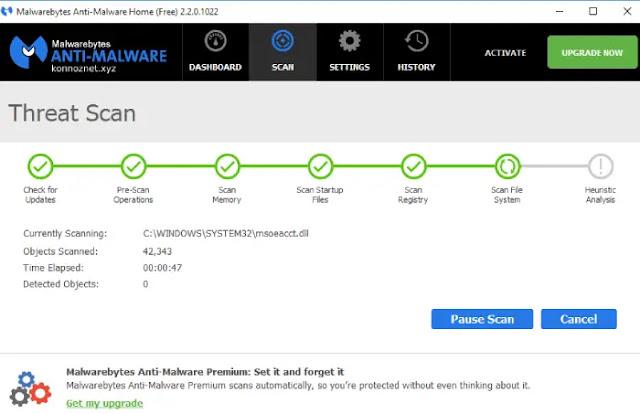 antivirus Malwarebytes