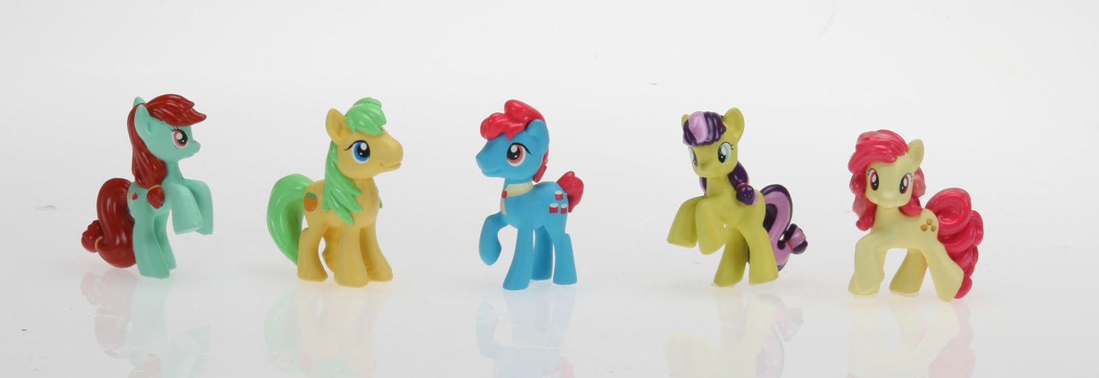 Blind Bag Wave 13 Chase Figures of Candy Apples, Mosely Orange, Apple Bottoms, Lavender Fritter and Apple Bumpkin