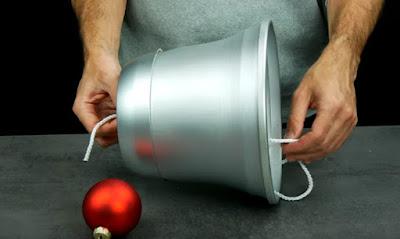sinos feitos com vasos