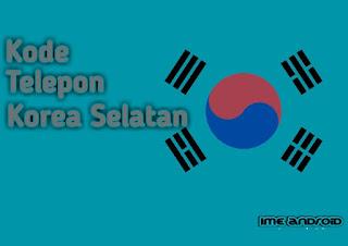 Nomor kode negara Korea selatan