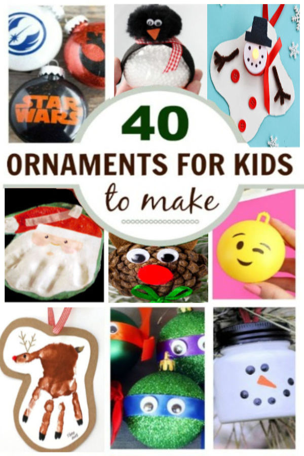 Fun & creative Christmas ornaments for kids to make this holiday season.  I love these craft ideas! #ornamentcraftsforkids #kidmadeornaments #ornamentsdiychristmas #ornamentcrafts #ornamentsforkidstomake #ornamentsdiykids #chrismtascrafts #christmasornaments #growingajeweledrose #activitiesforkids