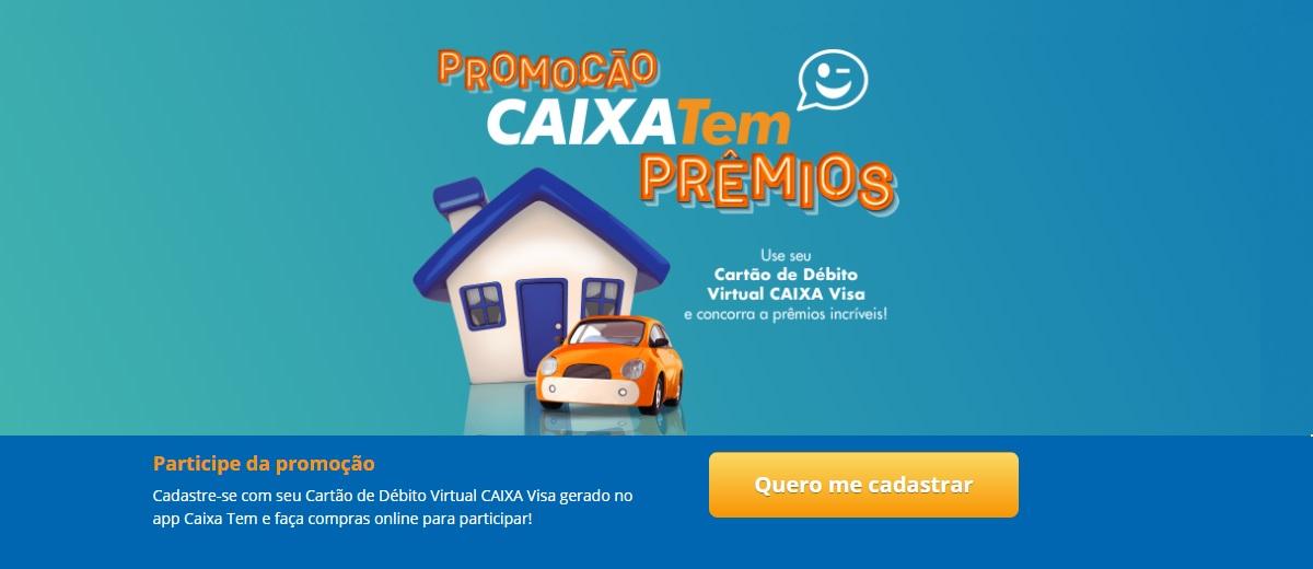 Participar Promoção Caixa Tem Prêmios Todo Dia