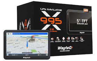 Wayteq autós GPS