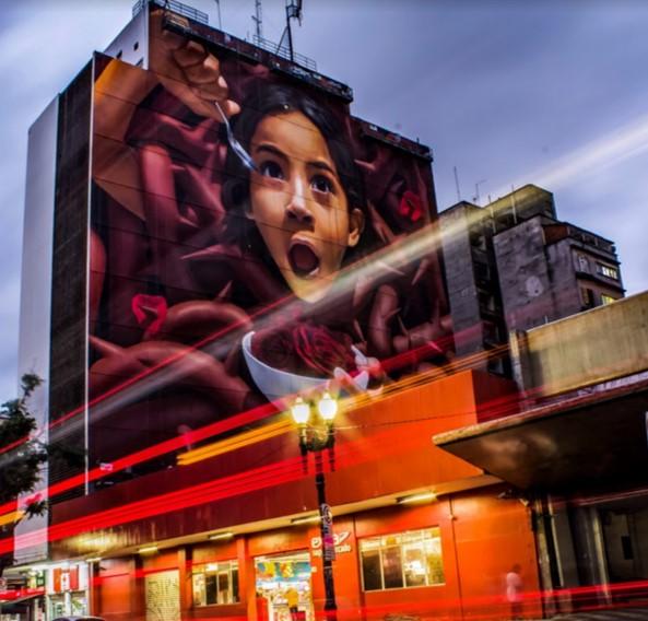 """Shopping Cidade São Paulo apresente exposição de fotos criadas no Instagram sob o tema """"Grafite e arte urbana"""""""