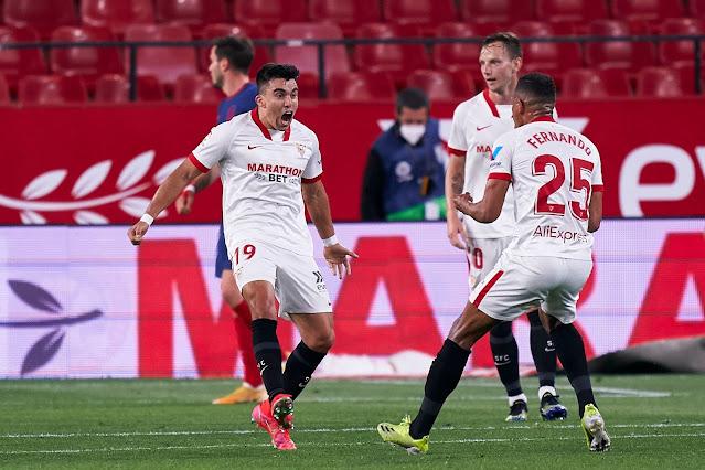 Crónica Sevilla FC 1 - Atlético de Madrid 0