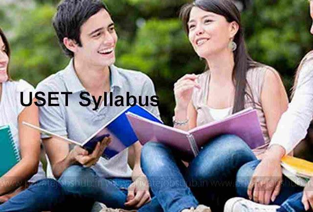USET Syllabus
