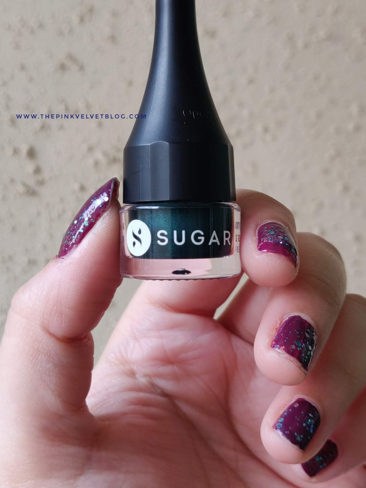 SUGAR Born to Wing Gel Eyeliner - Review and Swatches (All 5 Shades) - Green Eyes
