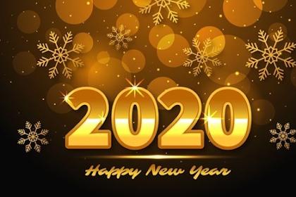 100 Kata-Kata Ucapan Selamat Tahun Baru 2020 (Happy New Year)