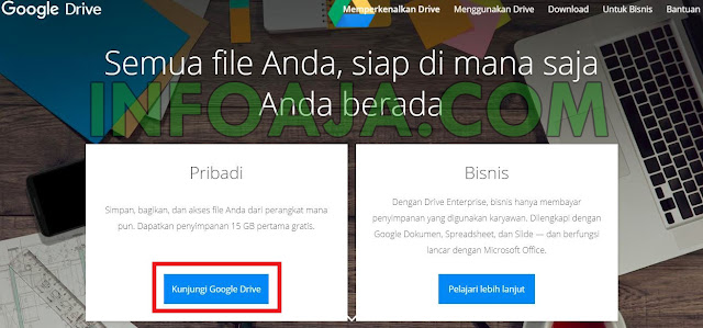 Halaman Google Drive