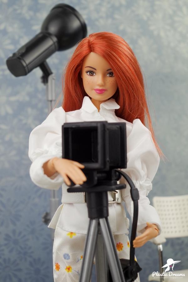 barbie photo shooting