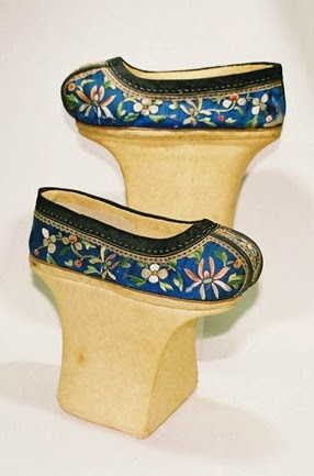 Manchu shoes, 19th century