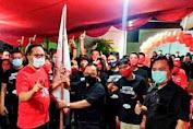 Sualang Ingatkan Para Relawan Kawal dan Jaga Suara OD-SK , AA-RS di TPS Masing-Masing.