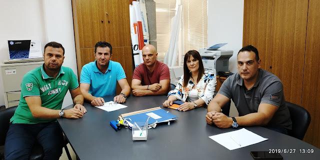 Η υποψήφια βουλευτής Ελένη Παναγιωτοπούλου επισκέφθηκε την Ένωση Αστυνομικών Αργολίδας