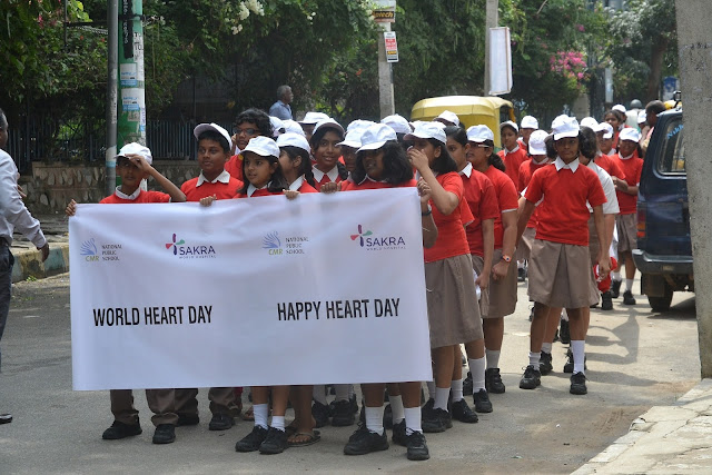 Student Walkathon and Student Heart Formation on World Heart Day