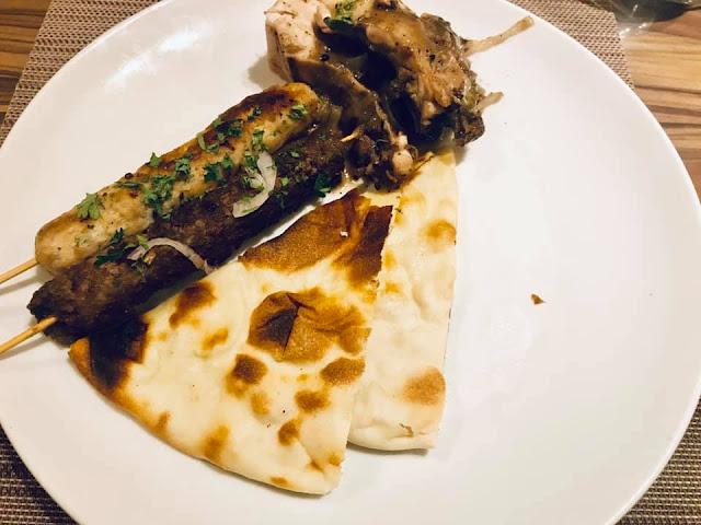 Sajian Makanan Arab Di Bld Cafe Renaissance Hotel Farah