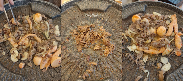 Simhae Medan - Makanan versi standar
