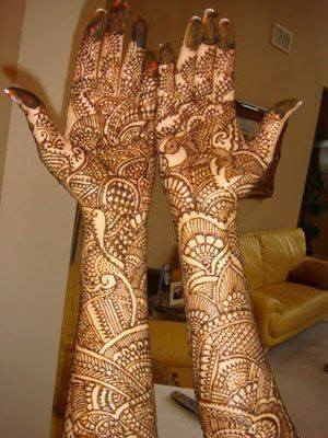 Bridal Designs for Full Hands 6