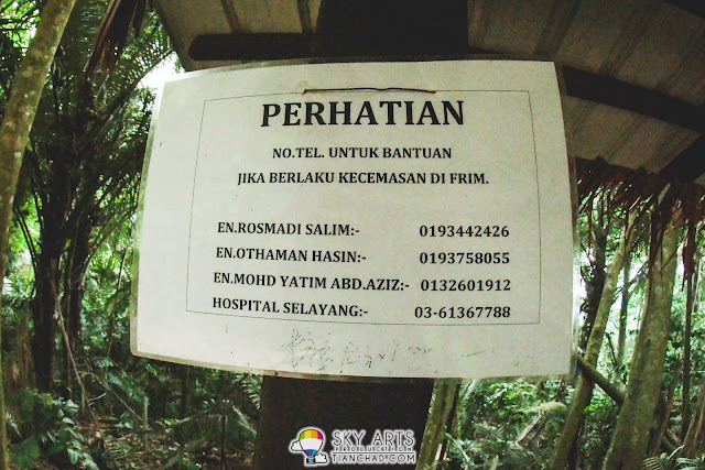 Emergency Contact for people in FRIM