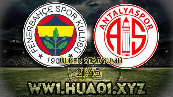 Fenerbahçe - Antalyaspor maçını canlı izle