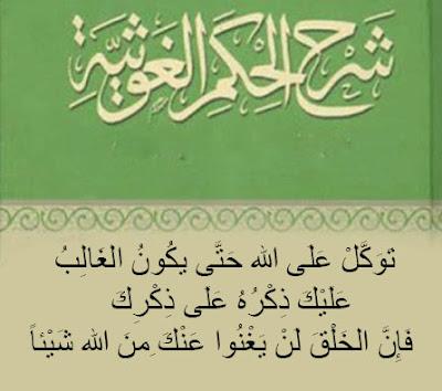 شرح الحكم الغوثية / أحمد بن مصطفى العلاوي