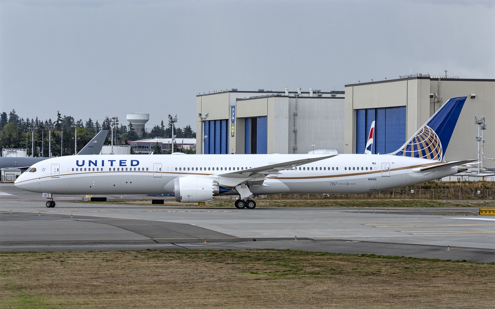 Boeing 787-10 Dreamliner of United Airlines